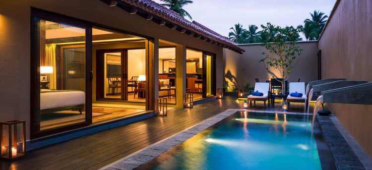 One Bedroom Private Pool Villa at the Anantara Resort in Sri Lanka