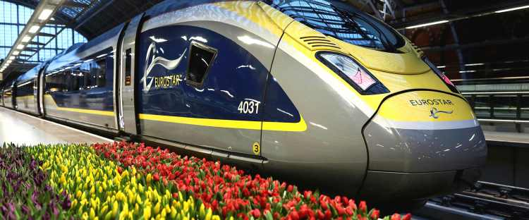 Eurostar train | St Pancras Station | Convenience & Comfort: Travel by Eurostar