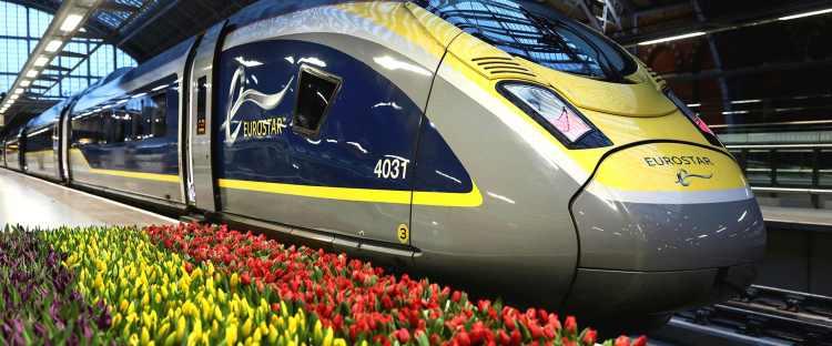 Eurostar train | St Pancras Station | Convenience & Comfort: Travel by Eurostar