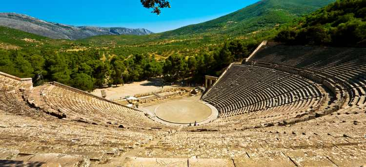 Greek amphitheatre | Greece Holidays | Riviera Travel