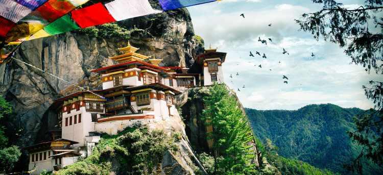 Tiger Monastery Bhutan