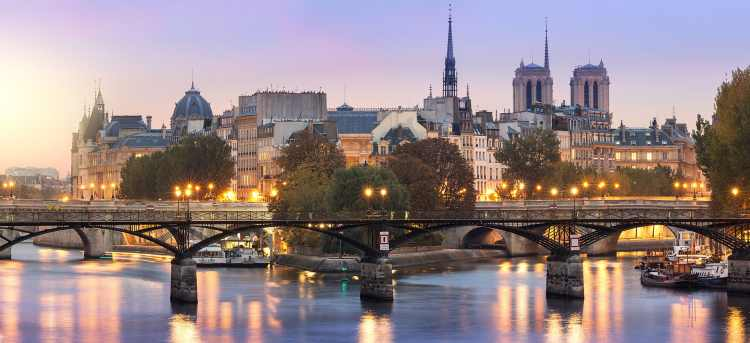 Seine river | Pont des Arts | Bridge | France | River Cruises in France