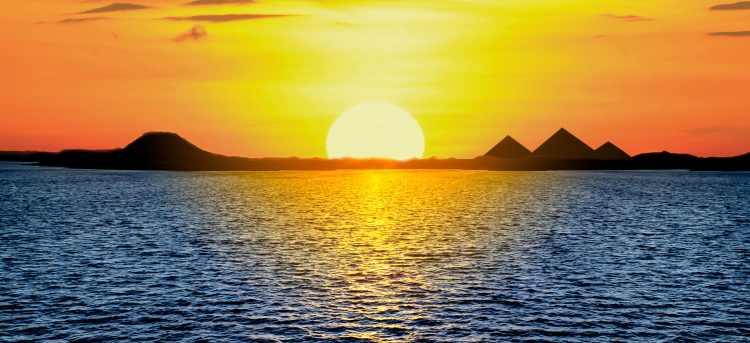 Sunset on the Nile | Egypt | Nile River Cruises