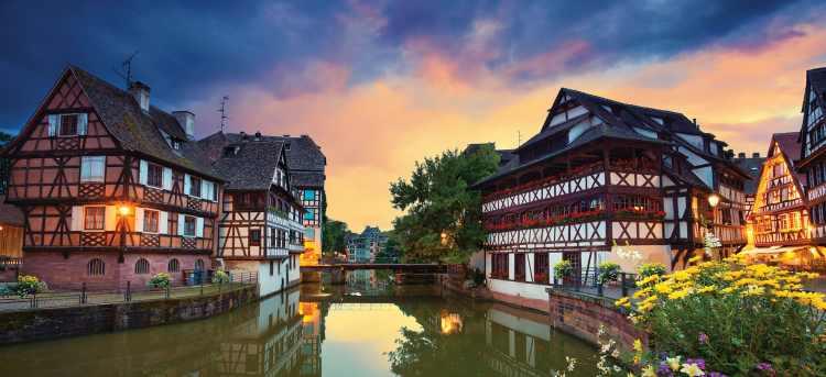 Strasbourg | France | Petit france | Germany | Rhine River Cruises
