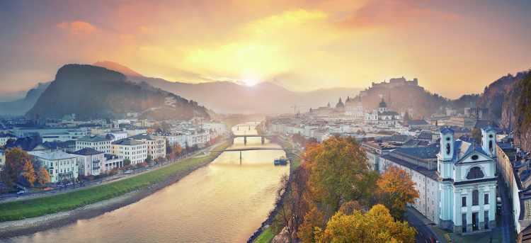 Salzach river | Salzburg | Austria | Holidays to Austria