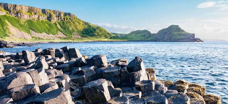 Giants Causeway | cliffs in Northern Ireland | riviera travel | escorted tour | visit Ireland