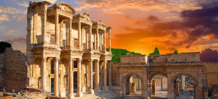 turkey roman ruins | ephesus | Tours to Turkey