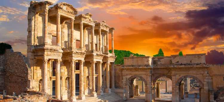 turkey roman ruins | ephesus | Tours to Turkey