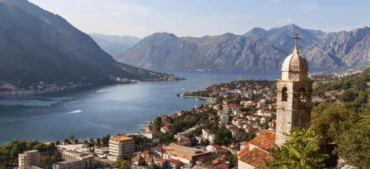 Kotor Bay | Montenegro | European tour | escorted tour | Riviera Travel | solo traveller