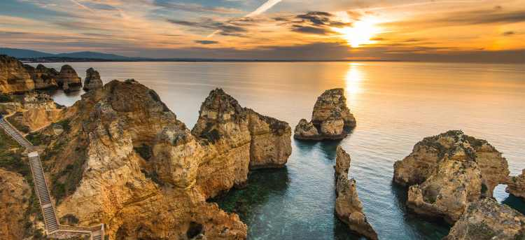 Ponta da Piedade | Algarve, Portugal | Escorted Tours for Solo Travellers