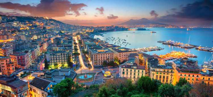 Bay of Naples | Christmas Sorrento Holidays