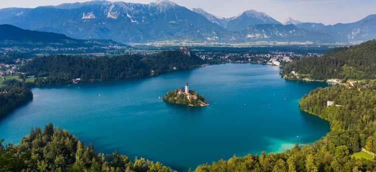 Lake Bled | Slovenia | Pilgrimage Church of the Assumption of Maria | Riviera Travel | escorted tour | walk | discover
