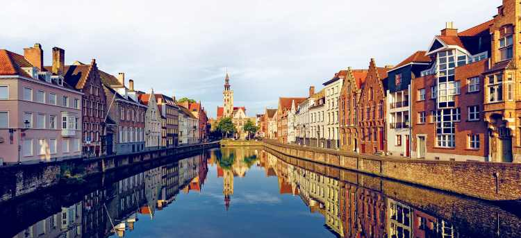 Bruges | canal | Belgium | Riviera Travel | escorted tour