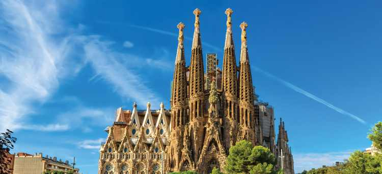 La Sagrada Familia | Barcelona | Spain | Riviera Travel | escorted tour