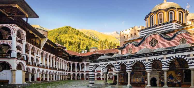 Rila Monastery | Bulgaria | Riviera Travel | escorted tour