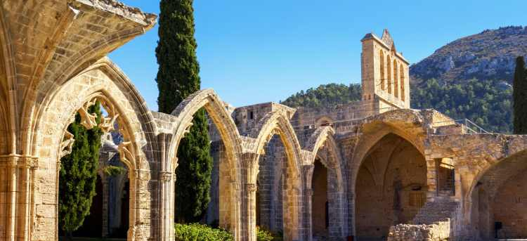 Bellapais | Northern Cyprus | Gothic abbey | ruins | Riviera Travel | escorted tour