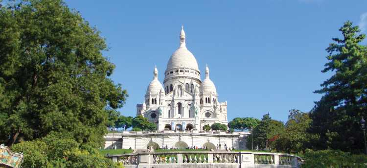 Sacré-Coeur | Montmartre | Paris | France | Riviera Travel | escorted tour