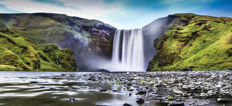Skogafoss waterfall | Iceland | Riviera Travel | escorted tour