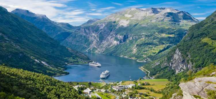 Geirangerfjord | fjord | Norway | Riviera Travel | escorted tour