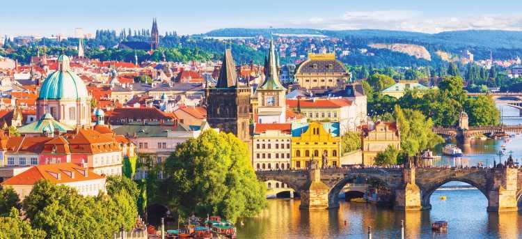 Prague   Czech Republic   Riviera travel   escorted tour