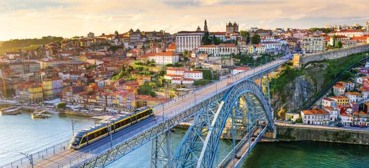 Porto | bridge | river douro | Riviera Travel | escorted tour