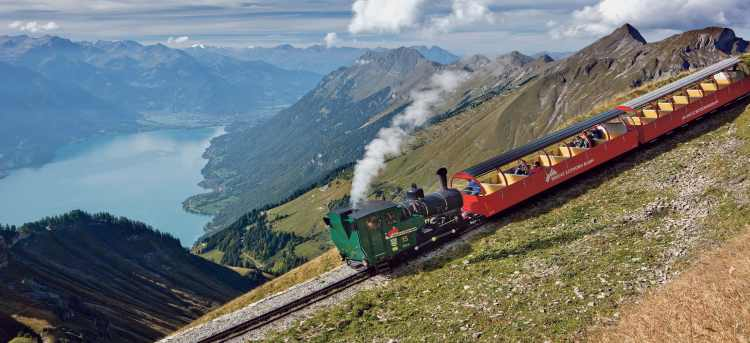 Bernese Rothorn Bahn | Briennz | railway | iconic rail journey | Switzerland | Riviera Travel | escorted tour