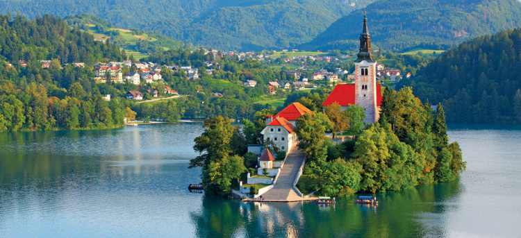 Lake Bled | Slovenia | Bled Island | Pilgrimage Church of the Assumption of Maria | Riviera Travel | escorted tour