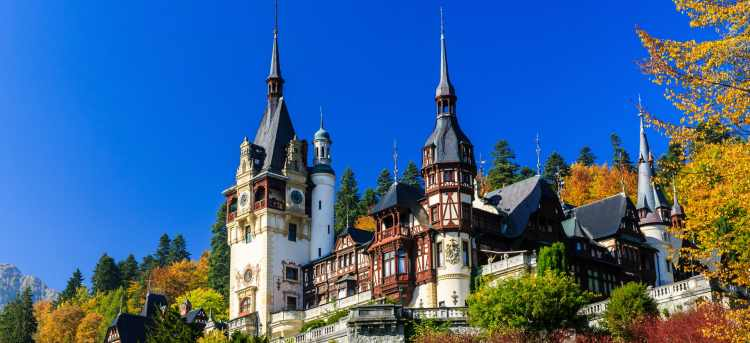 Peleş Castle | Sinaia | Romania | Riviera Travel | escorted tour