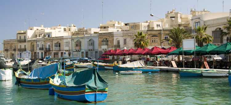 Marsaxlokk | harbour | Malta | Riviera Travel | escorted tour