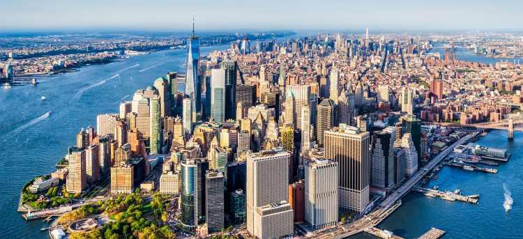 Panorama of New York City   New York City, United States of America