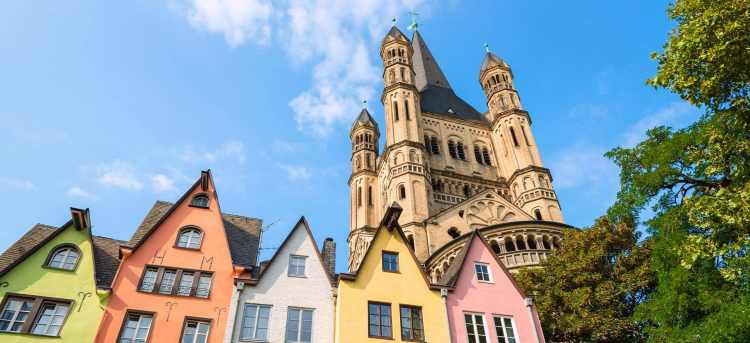 Great St. Martin Church | Cologne | new tours | new cruises
