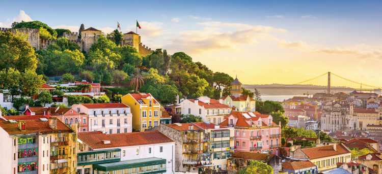 Hilltop Castelo de São Jorge | Lisbon | Douro river | Riviera Travel | river cruise