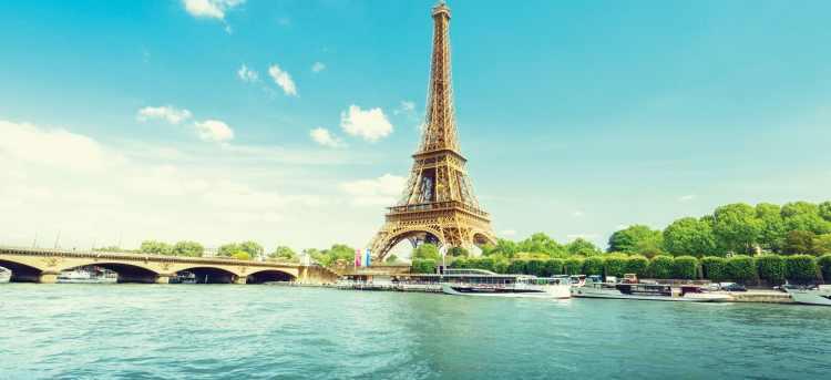 Seine river | Eiffel tower | Riviera Travel | river cruise