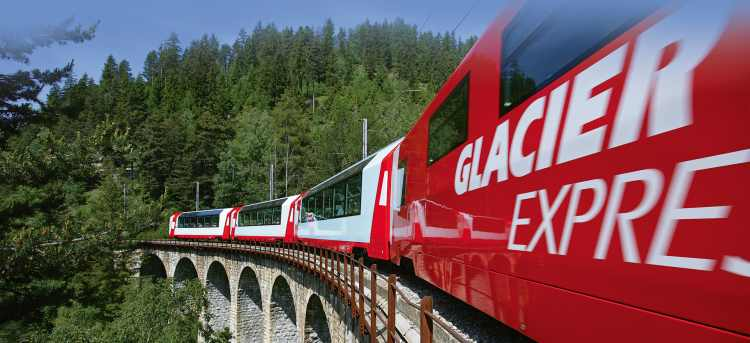 Switzerland | Railroad in the Alps | Swiss Glacier Express | Riviera Travel | river cruise