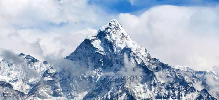 Ama Dablam Mount in Nepal, Himalayas