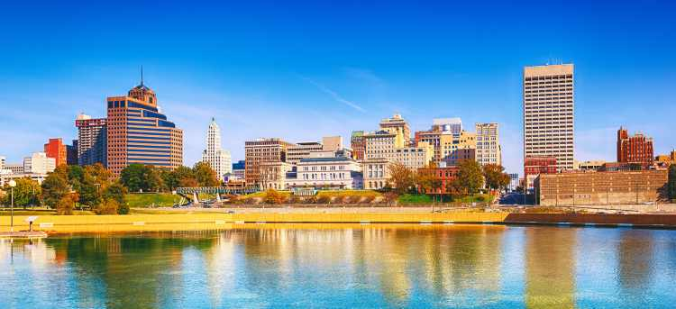 Memphis skyline | USA | America | Riviera Travel | escorted tour