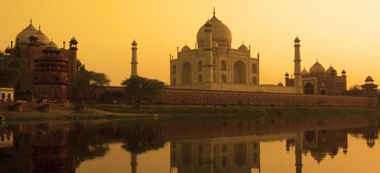 UNESCO world heritage site | Taj Mahal | Agra | India  | Riviera Travel | escorted tour