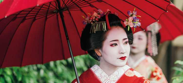 geisha | Japan | Riviera Travel | escorted tour