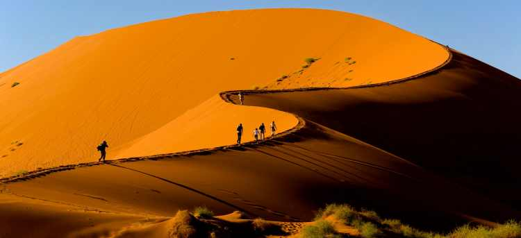 sossusvlei dunes | desert | Namibia | Riviera Travel | escorted tour