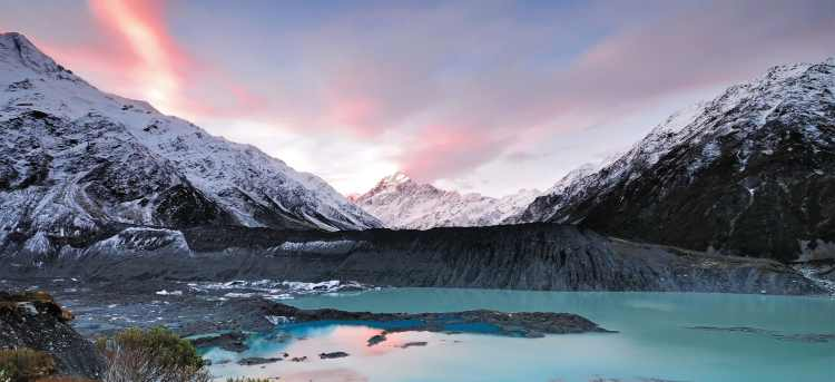 national park | mount Cook | mountain | Christchurch | New Zealand | Riviera Travel | escorted tour | solo traveller