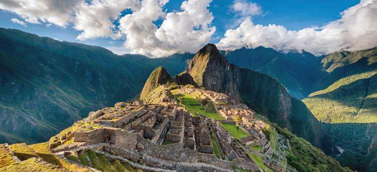 Machu Picchu | Andes mountains | Peru | Riviera Travel | escorted tour