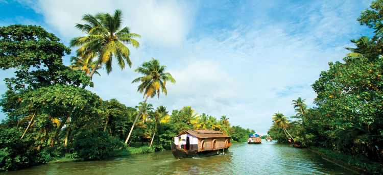Southern India & the backwaters of Kerala