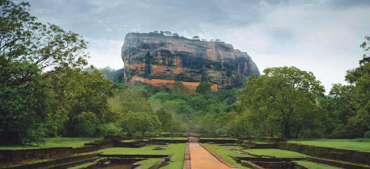 Sigiriya Rock | Sigiriya | UNESCO world heritage site | Sri Lanka | Riviera Travel | escorted tour