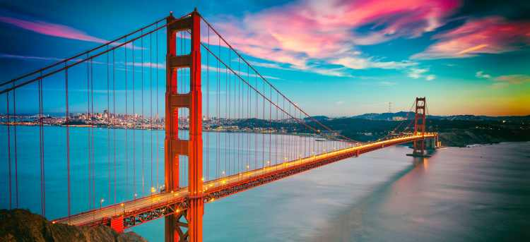 Golden Gate Bridge | San Francisco | golden west | Riviera Travel | escorted tour | USA | America | solo traveller