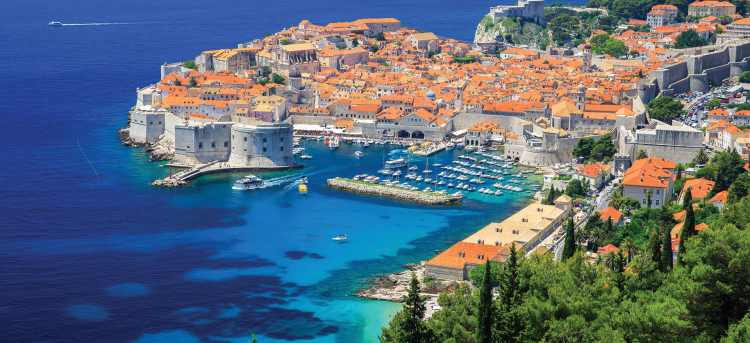 The Dalmatian Coast: Dubrovnik - Split - Dubrovnik