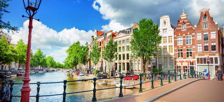 bridge over canal | Amsterdam | the Netherlands | Riviera Travel | river cruise | solo traveller