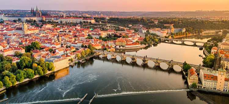 The Blue Danube River Cruise with Prague Extension