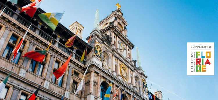 Antwerp City Hall in Belgium