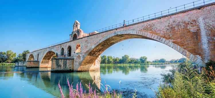 Avignon | old stone bridge | Provence | France | Riviera Travel | River Cruises