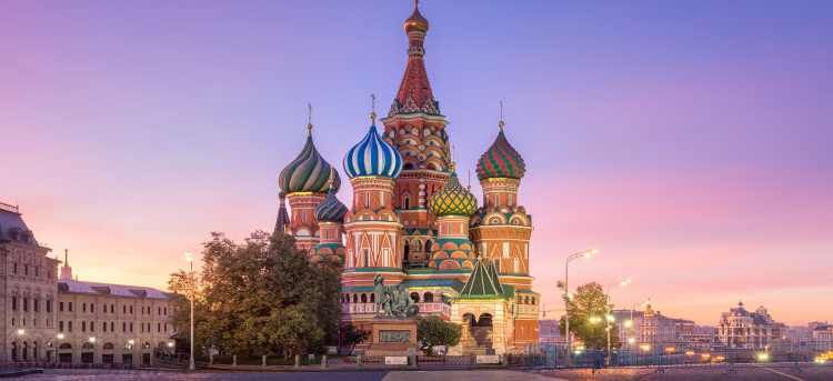 st basil's cathedral | red square | Moscow | Russia | River Cruises in Russia